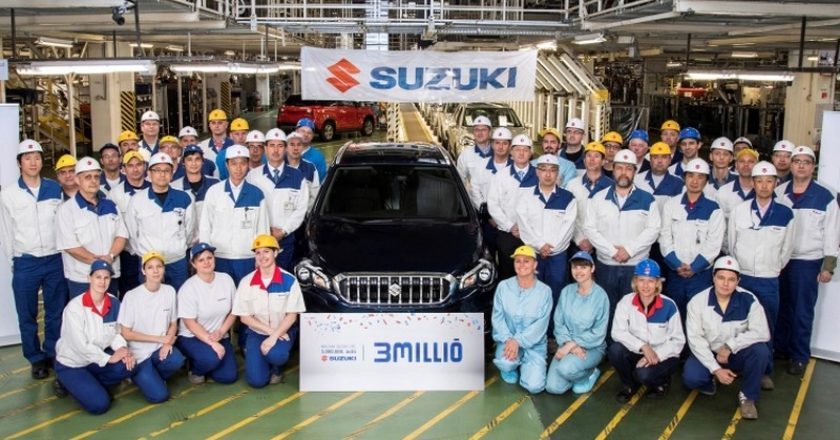 3 milliomodik gyártott Suzuki Esztergomban
