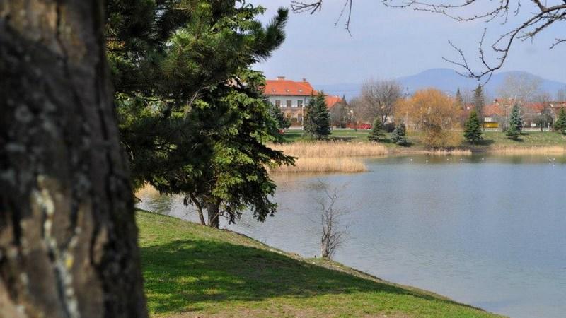 Omszk tó Budakalász