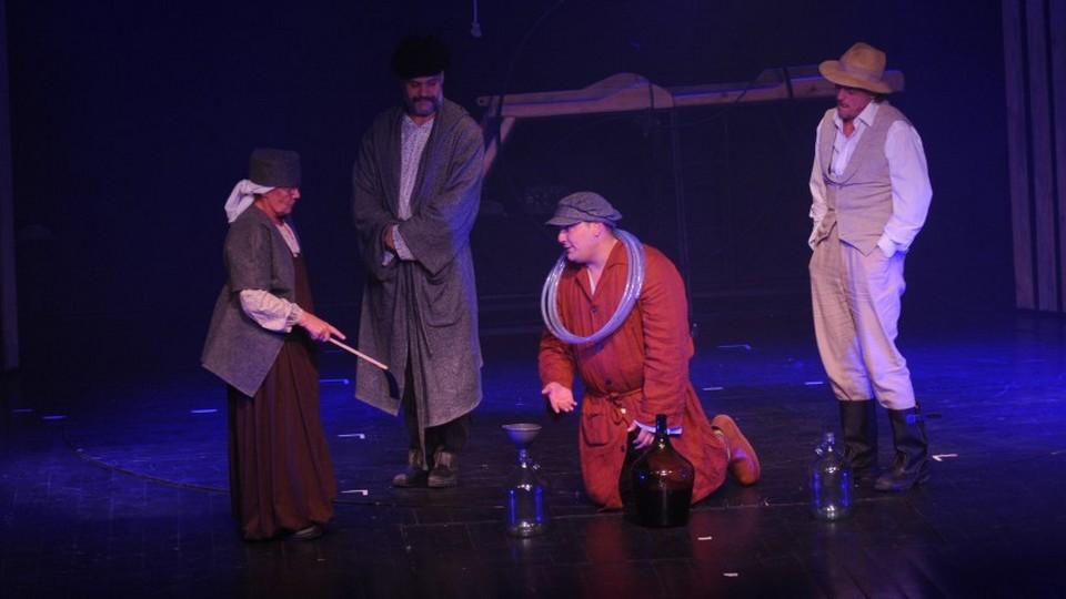 Váci Dunakanyar Színház Bartók Kamaraszínház Ványa bácsi előadás