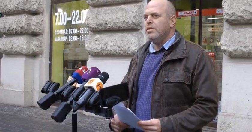 Dr. Manninger Péter (váci Fidesz-KDNP) sajtótájékoztatója