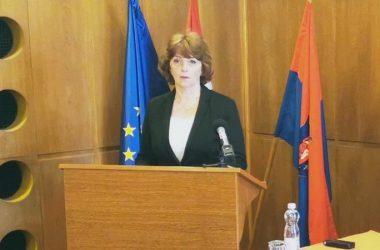 Matkovich Ilona Helyi Operatív Törzs sajtótájékoztató