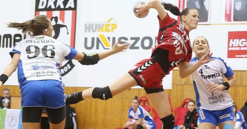 Dunaújvárosi Kohász KA - Ipress Center-Vác női kézilabda mérkőzés 2017.04.08.
