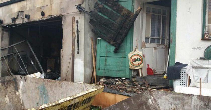 Leégett családi ház Pomázon