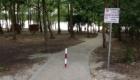 A Katonadombról leérve sétány visz a szabadstrnadig.