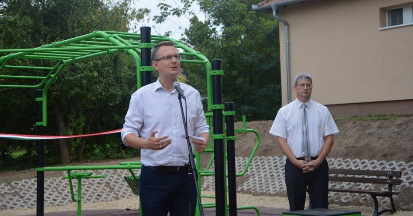 Rétvári Bence Vácdukai Sportpark átadás