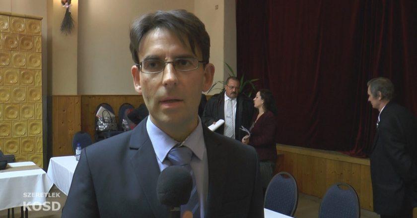 Bársony Csaba - Kosd alpolgármestere